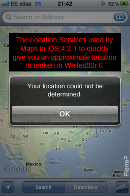 2b2258df85d0 Native Maps app returning a